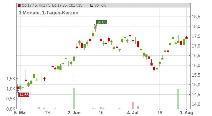 Subaru Corporation Chart