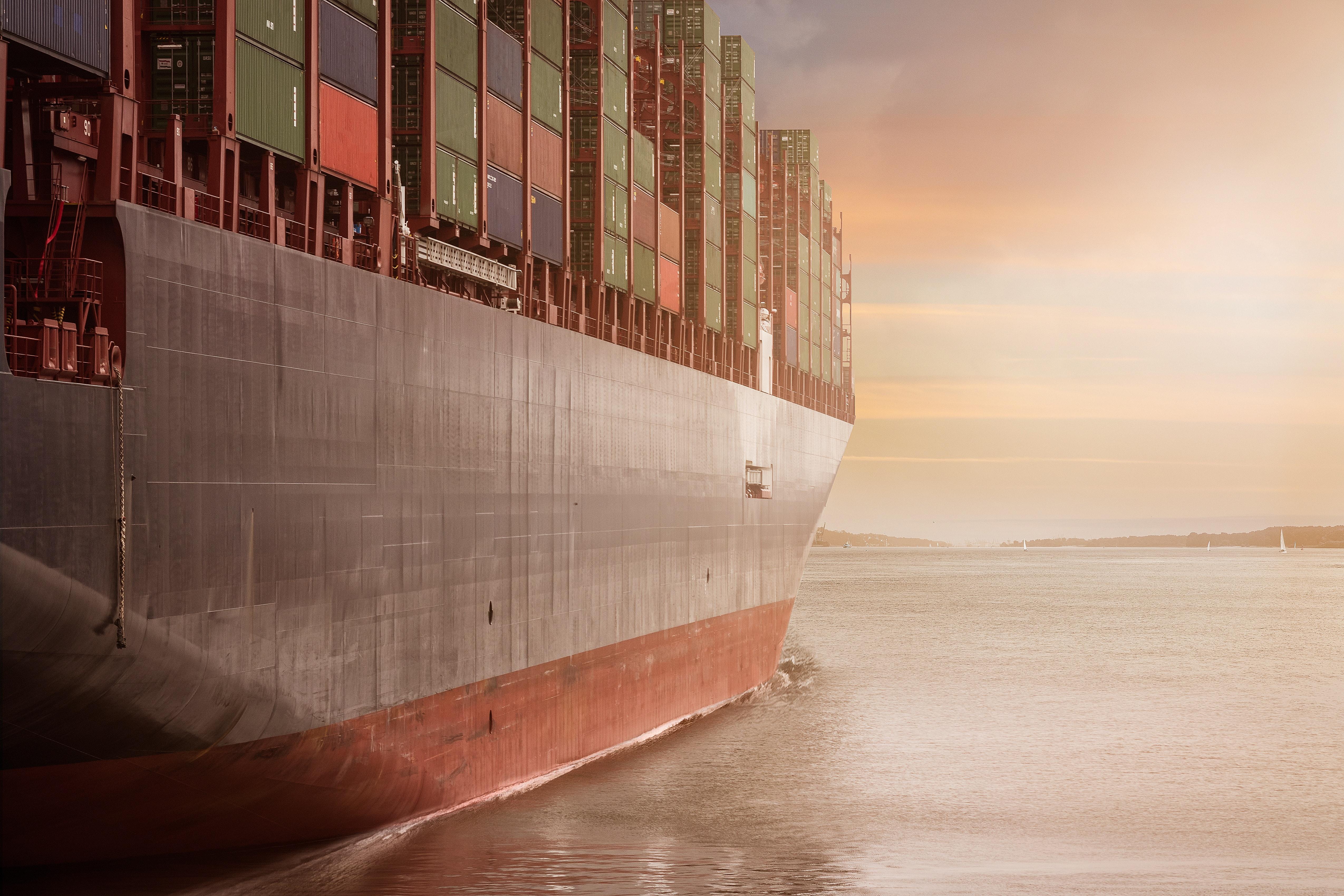 Container Schifffahrt