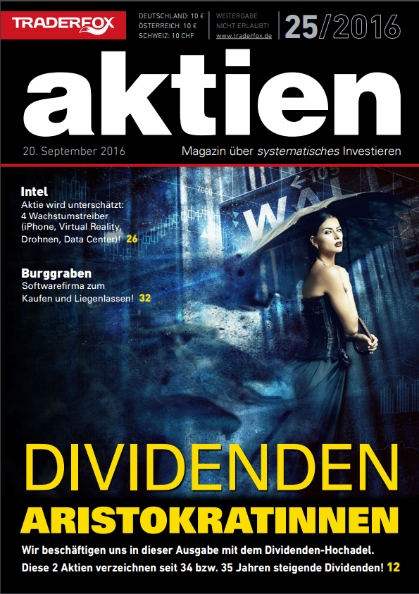 aktien Magazin Cover 25