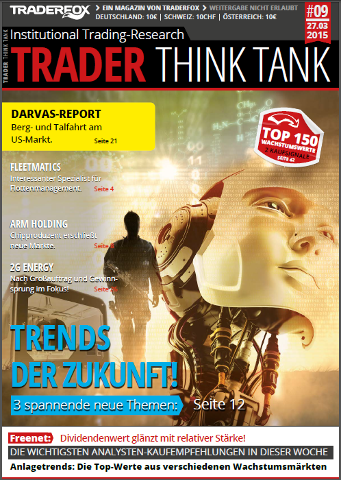 Cover Trader Think Tank Magazin