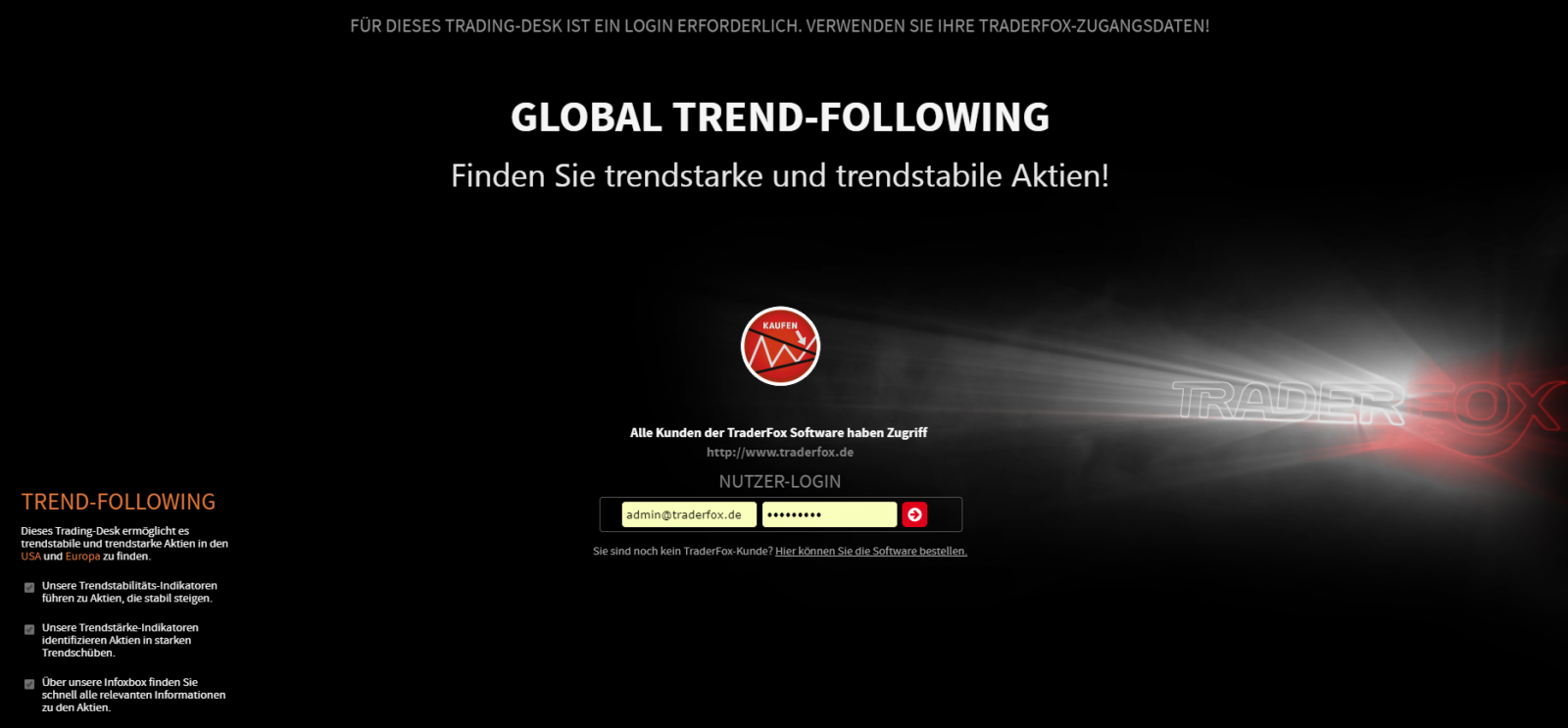 Global Trend Following