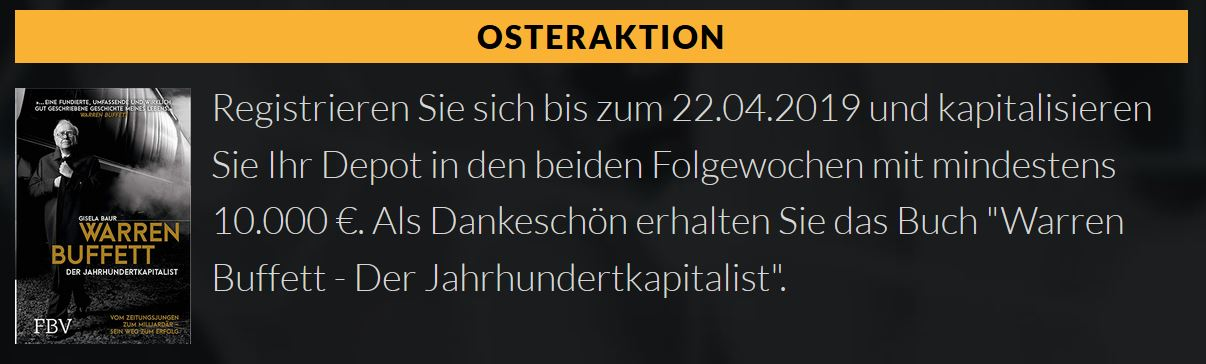 QualitInvest Osteraktion