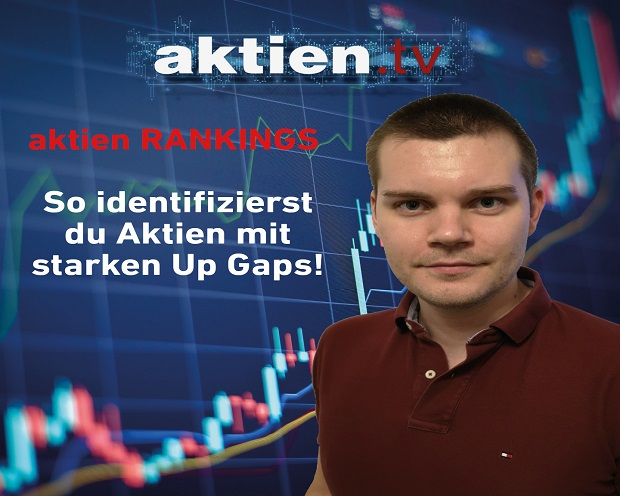 aktien RANKINGS: So identifizierst du Aktien mit starken Up Gaps!