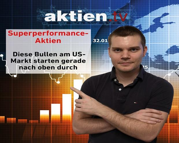Superperformance-Aktien: Diese Bullen am US-Markt starten gerade nach oben durch